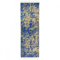 Alfombra Cotton Vintage 070 x 230 Light Blue