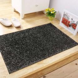 Shaggy Bicolor 50 x 100 Black Gray