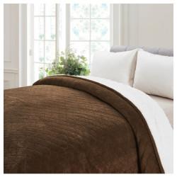 Cobertor Coral Coffee / 2.5 Plazas
